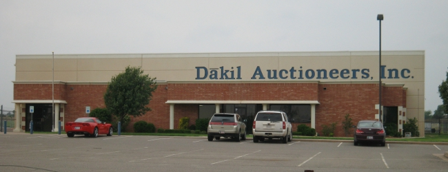 Dakil Auctioneers Building in Oklahoma