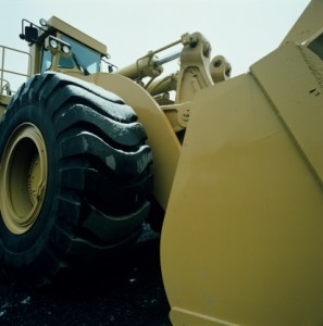 Example of heavy equipment for auction